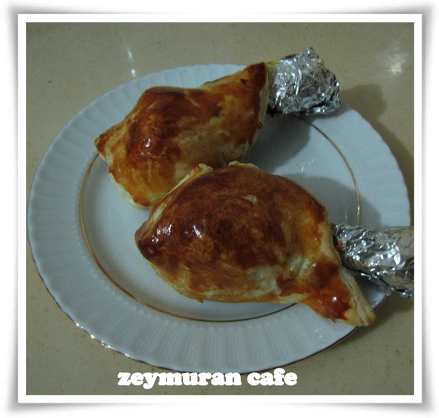 Milföylü tavuk baget