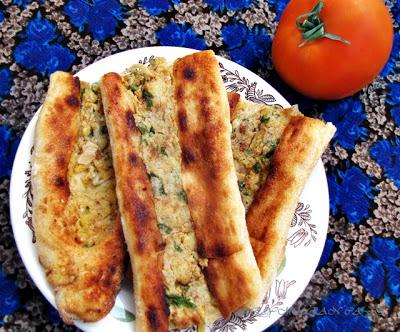 Kolay Menü,Patatesli Peynirli Fırın Böreği