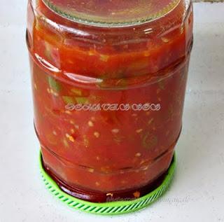 Domates sos, melemen nasıl yapılır