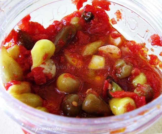 Çiğ domates sosu