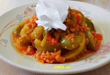 yesil-domates-yemegi