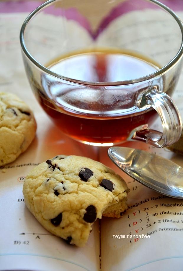 nefis damla çikolatalı kurabiye