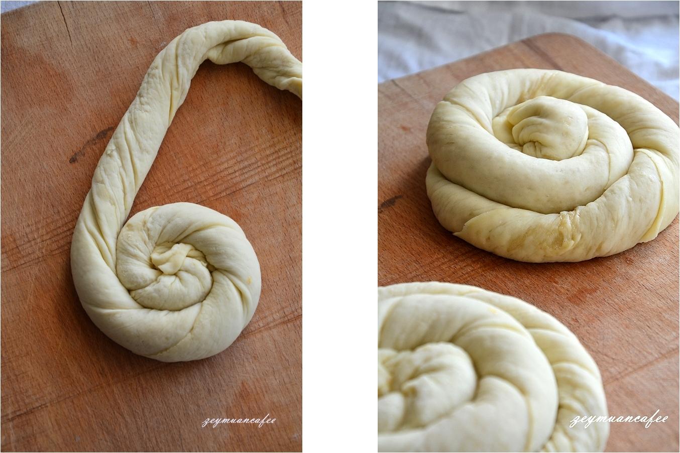tahinli-ekmek-yapımı