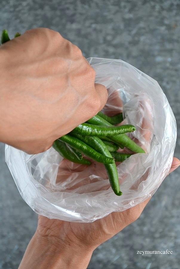 dondurucuya kızartmalık biber nasıl konur
