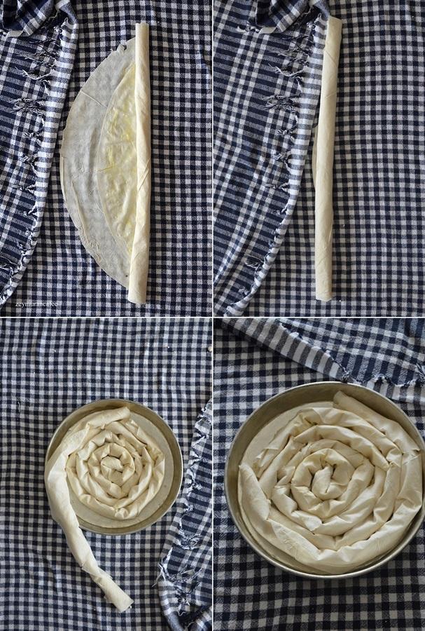dolama börek yapımı