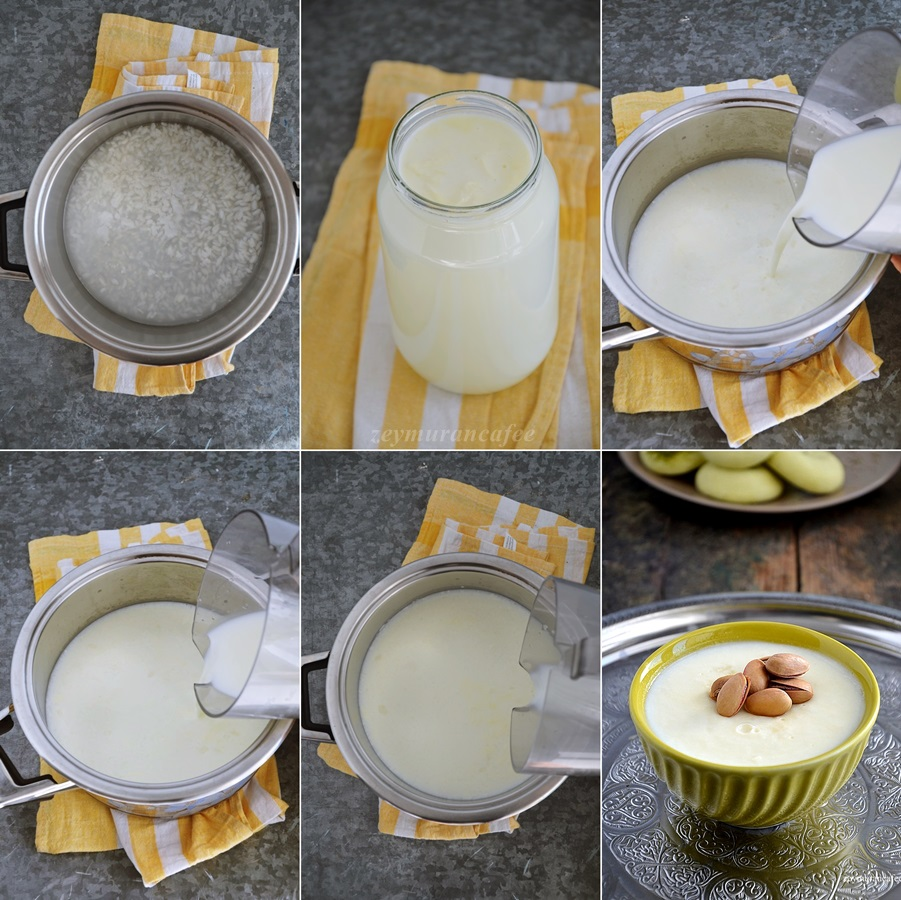 kolay sütlaç tarifi ve yapımı