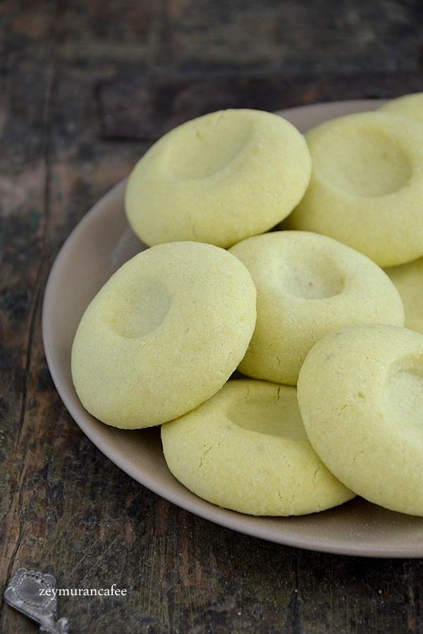 toz pudinli kurabiye tarifi
