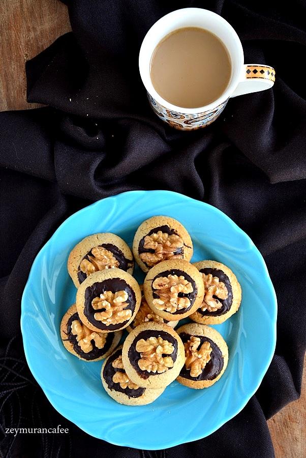 cevizli kurabiye tarifi resimli