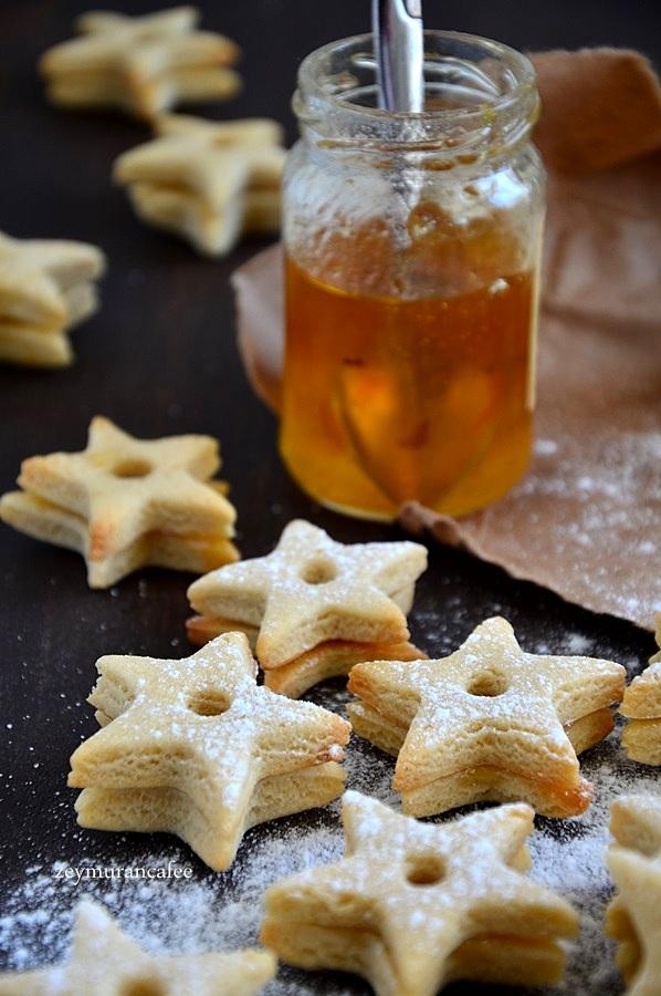 reçelli kurabiye tarifi resimli