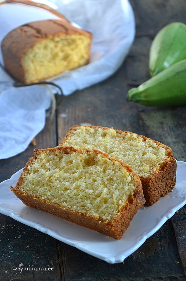 yeşil kabaklı kek tarifi