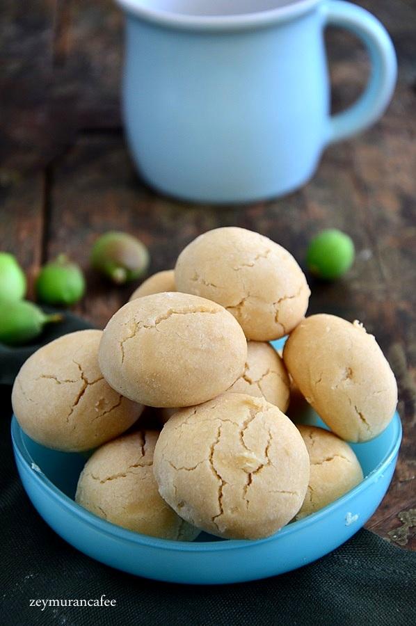 pudra şekerli un kurabiyesi