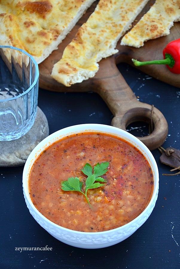 hedik çorbası tarifi