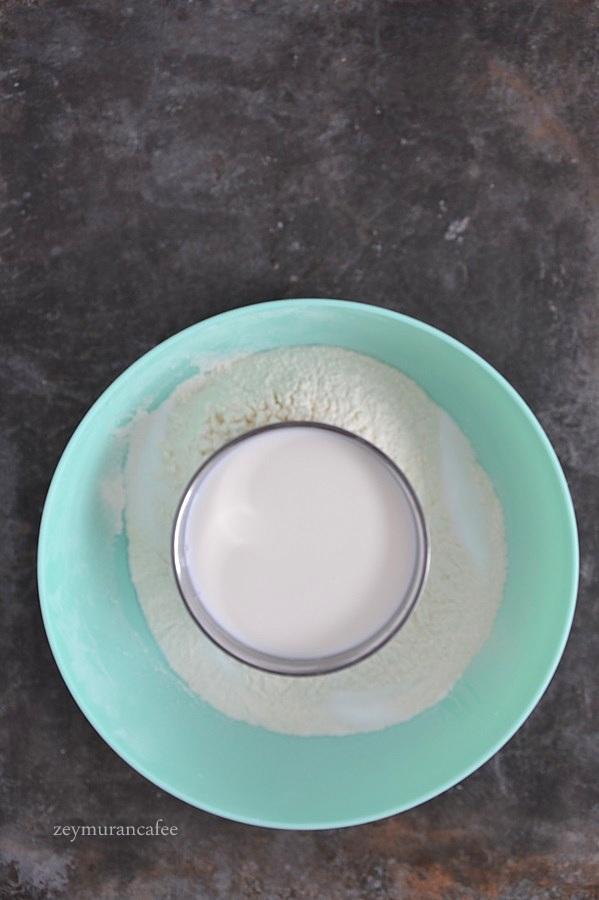 sütlü mayalı pişi tarifi yapımı