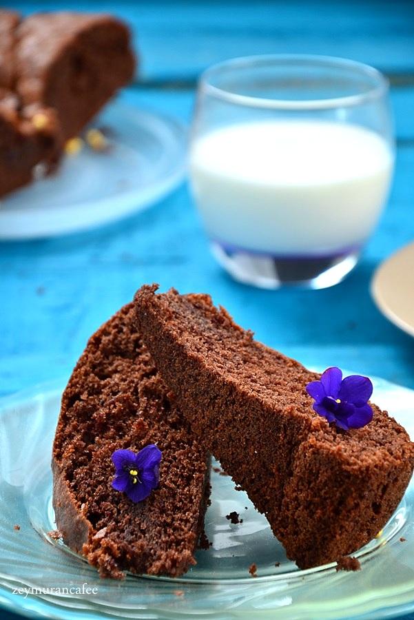 12 yemek kaşığı kakaolu kek tarifi