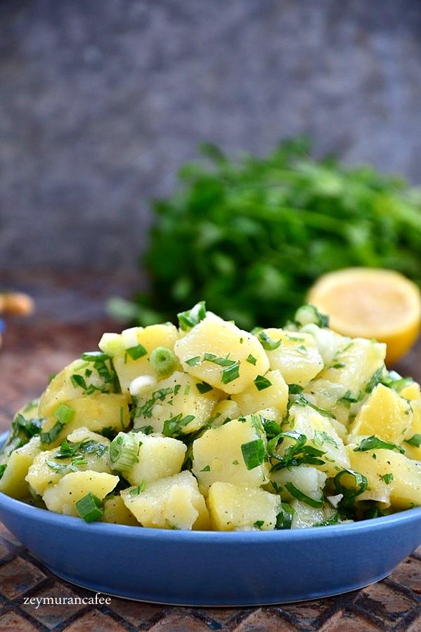 kolay patates salatası tarifi