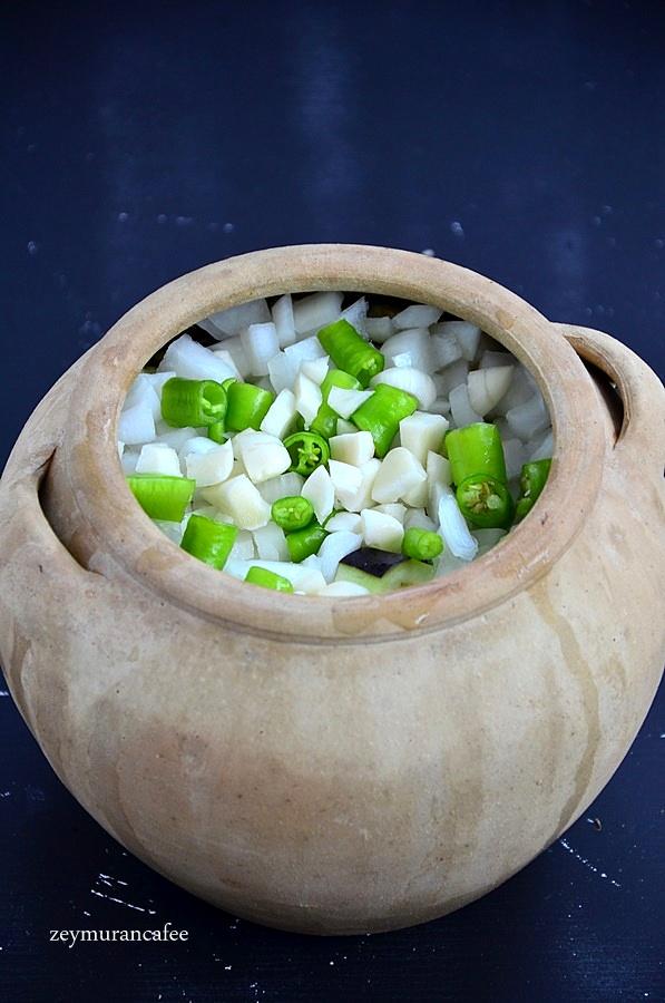 patlıcanlı çömlek tarifi