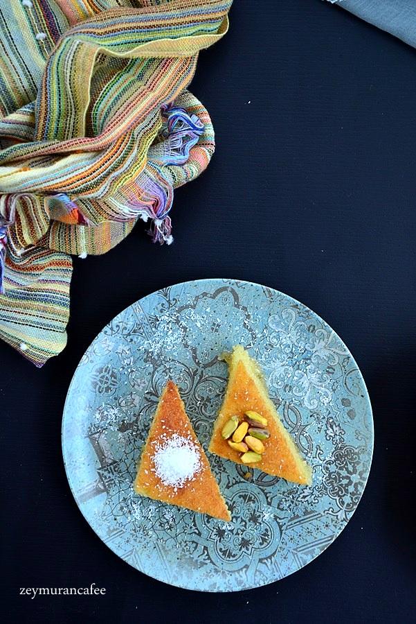limonlu revani tarifi ve yapımı