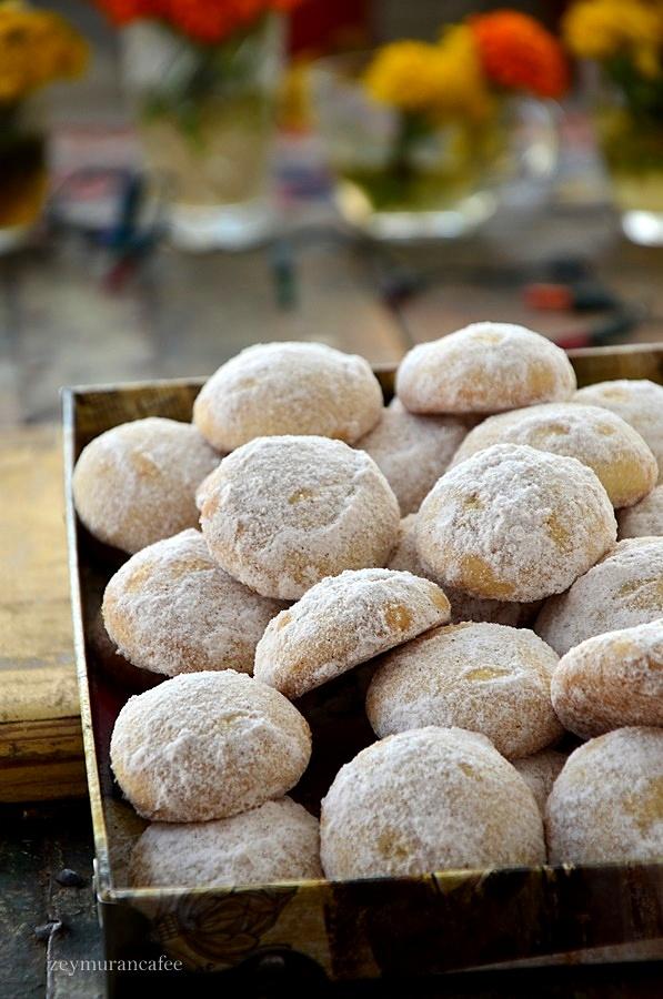 tarçınlı lokmalık kurabiye