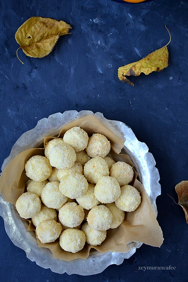 portakallı ıslak kurabiye tarifi
