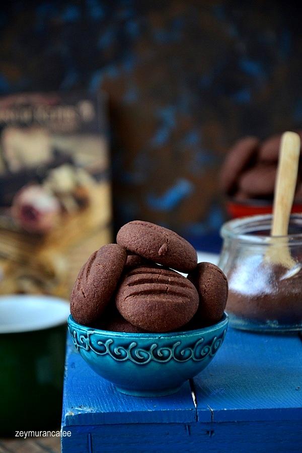 kolay kakaolu kurabiye