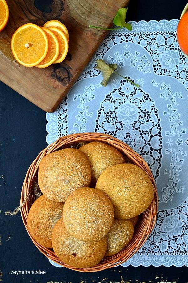 portakallı anne kurabiyesi