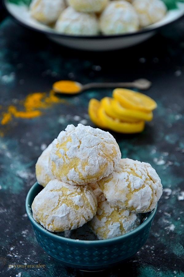 limonlu zerdeçallı kurabiye tarifi