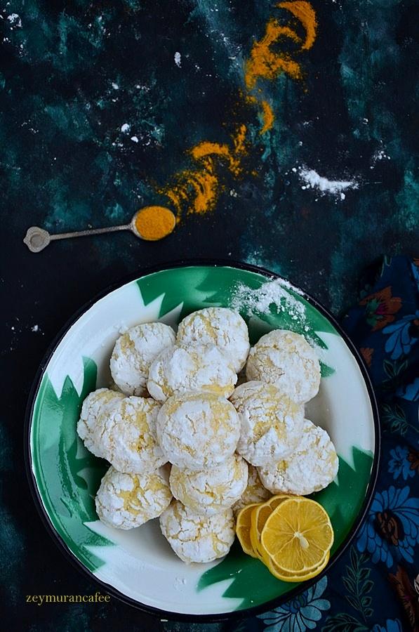limonlu zerdeçallı kurabiye