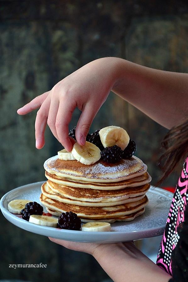 basit pancake tarifi