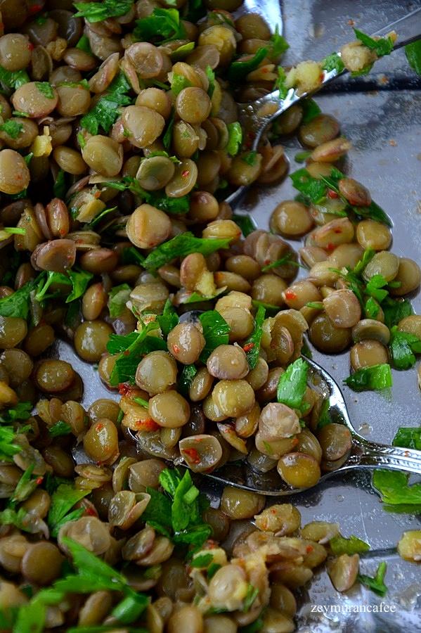 diyet yeşil mercimek salatası
