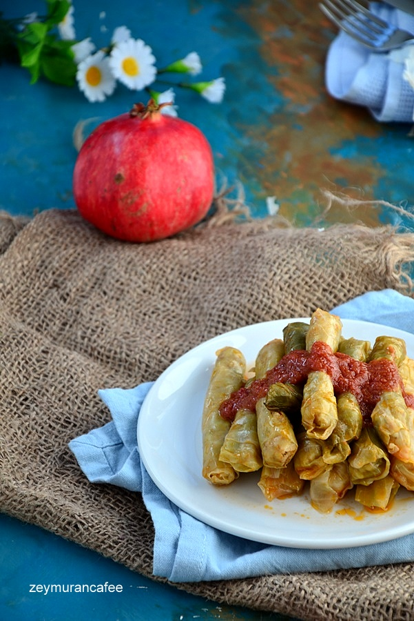 etli lahana sarması nasıl yapılır