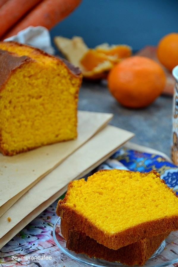 havuçlu portakallı kek tarifi