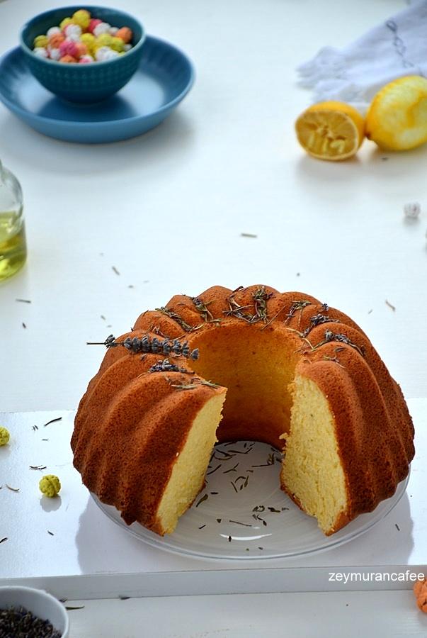 kekikli limonlu kek
