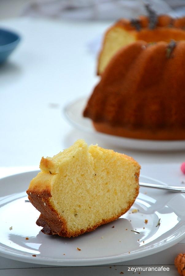 kekikli zeytinyağlı limonlu kek