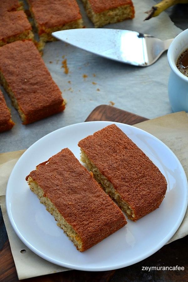 mükemmel muzlu kek
