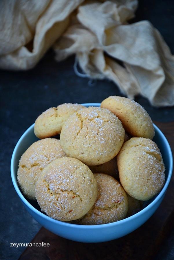 zeytinyağlı portakallı kurabiye tarifi