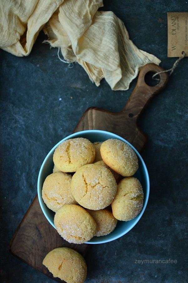 portakallı zeytinyağlı kurabiye