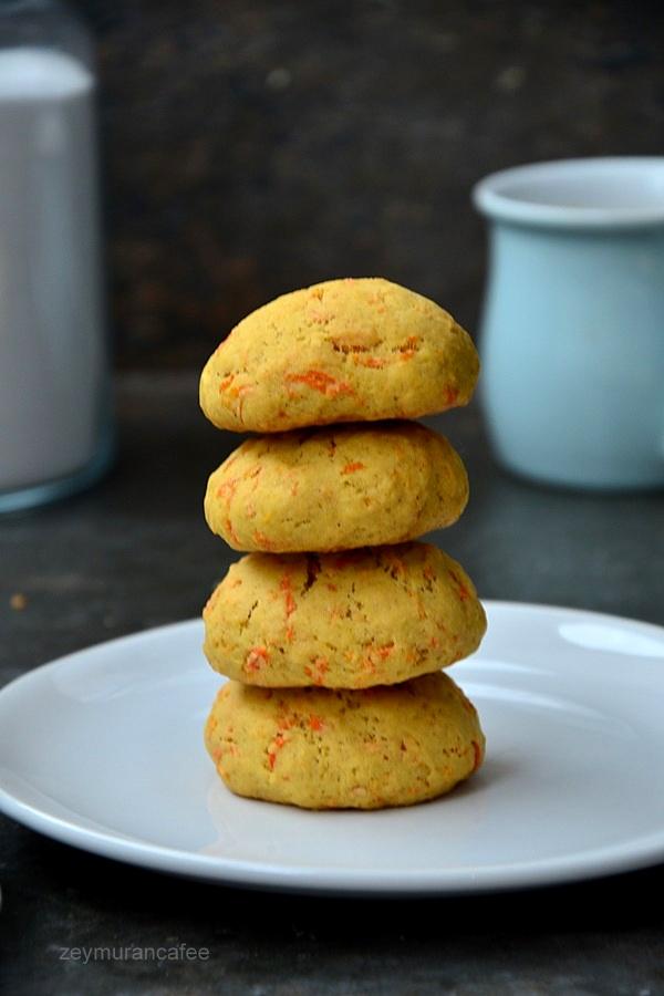 havuçlu üzümlü kurabiye tarifi