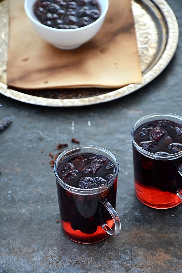 siyah üzüm hoşafı tarifi