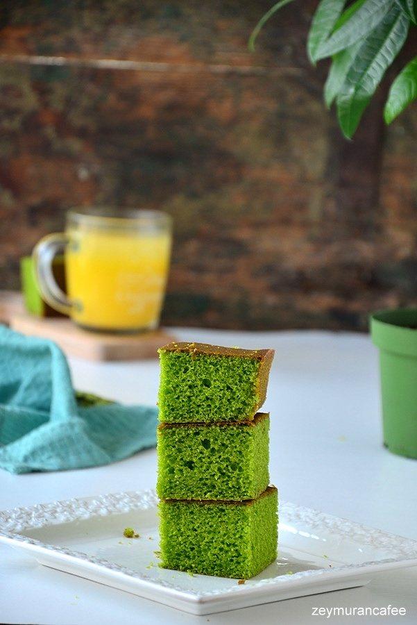 ıspanaklı kolay kek tarifi